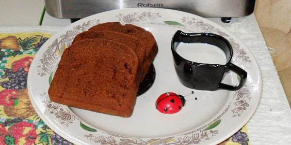 Ломтики кекса с добавлением какао