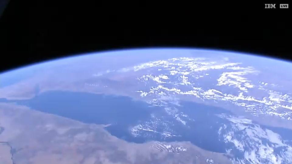Красное море - вид из космоса