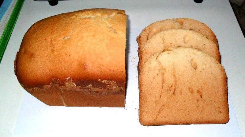 Внешний вид кекса без наполнителей