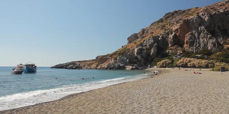 Пляж на острове Крит