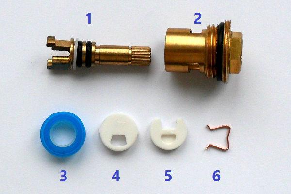 Устройство керамической кран-буксы