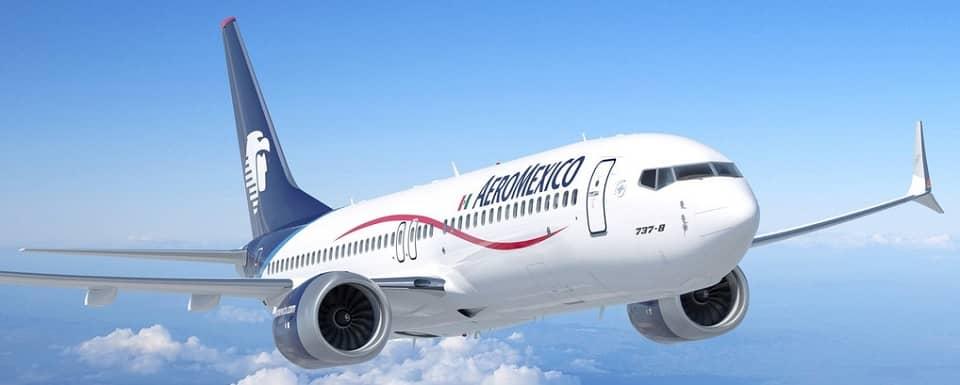 Самолет Boeing 737 авиакомпании AeroMexico