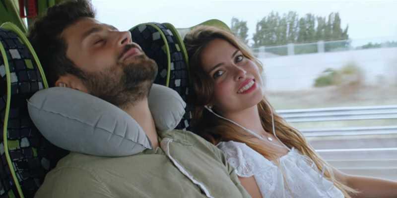Пассажиры в автобусе FlixBus