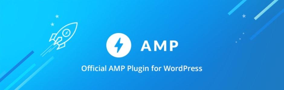 Изображение для идентификации официального плагина AMP для WordPress