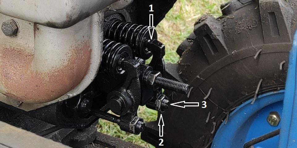 Клапаны тяжелого дизельного мотоблока